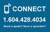 Need a Quote? Have a questions? Connect 1-604-428-4034